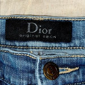 Dior original denim jeans